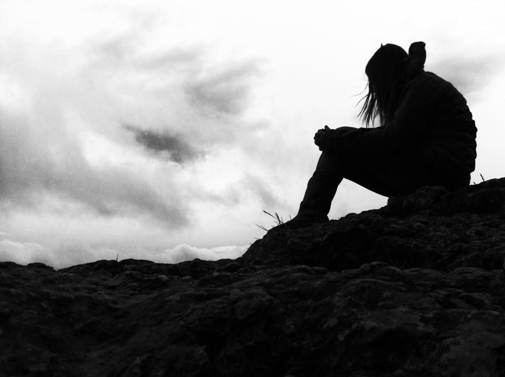 thinkin' silhouette - Heubach Ruine Rosenstein